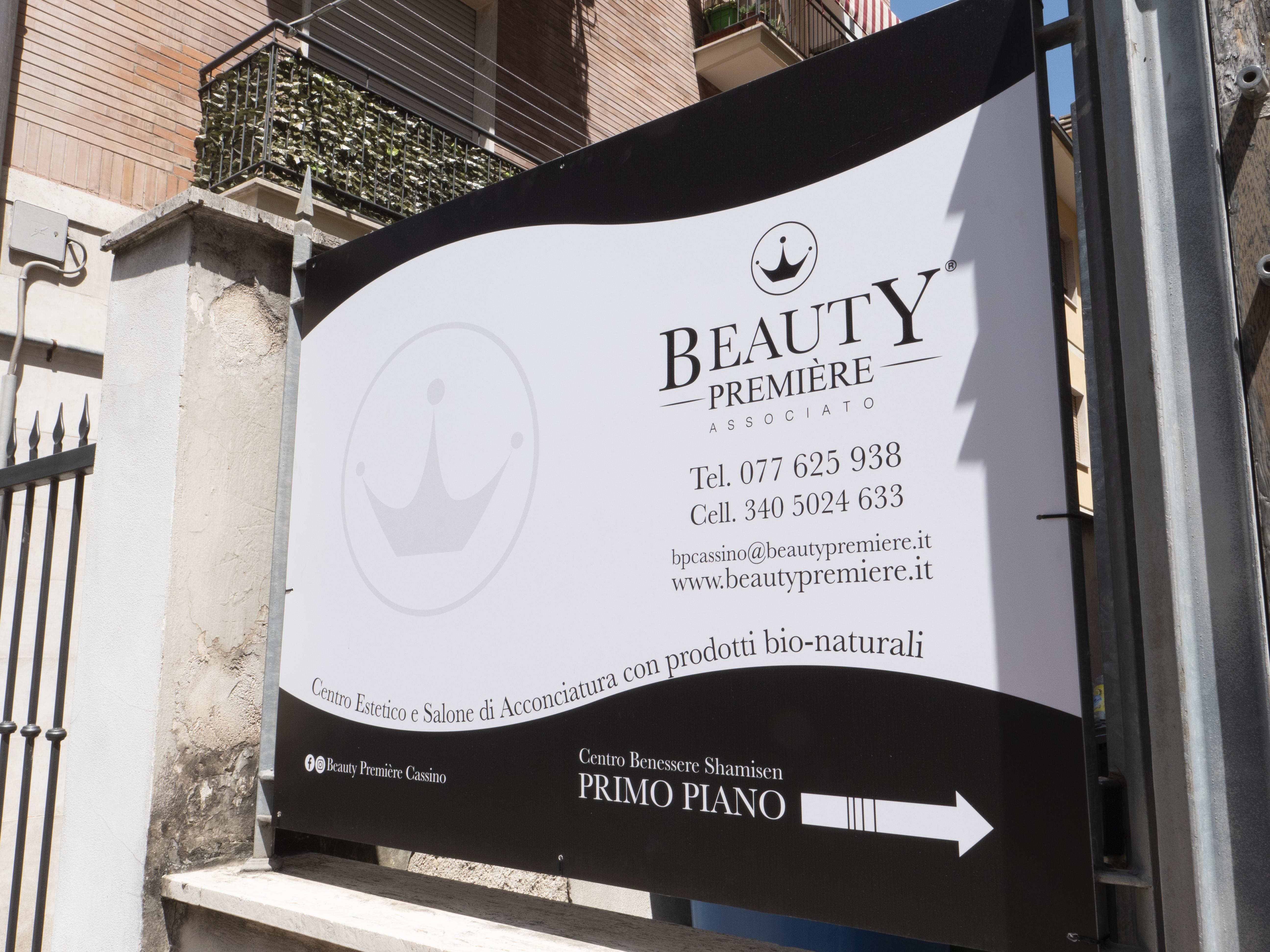 insegna Beauty Première Cassino
